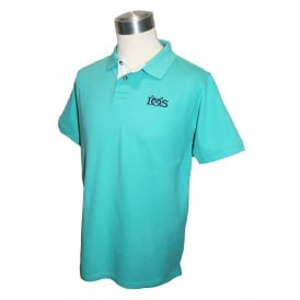 Mens Classic Polo Pool Blue