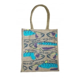 IOS Mackerel Jute Shopping Bag