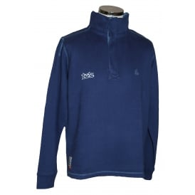 Mens Supersoft 1/4 Zip Sweatshirt Twilight