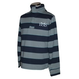 Mens Triple Striped Half Zip Griffin