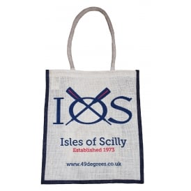 IOS Logo Jute Shopping Bag