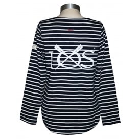 Ladies Harbour Jersey Top French Navy
