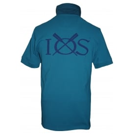 Mens Woody Classic Fit Polo Shirt Teal
