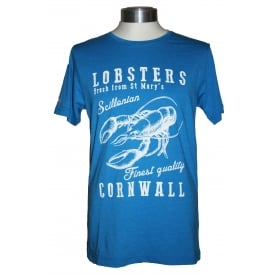 Mens Cornish Clothing Lobster tee