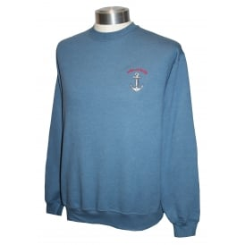 Unisex Scilly Sweatshirt Blue Anchor
