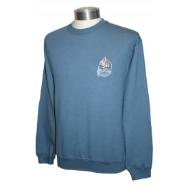 Unisex Scilly Sweatshirt Blue Ship