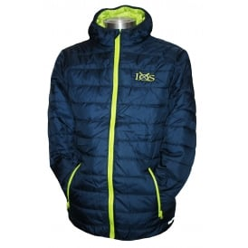 Men's Soft Padded Jacket Navy Lime