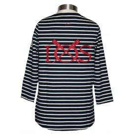Ladies Harbour 3/4 Sleeve French Navy