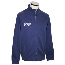 Mens Full Zip Sweatshirt Maritime Blue