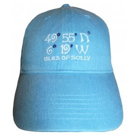 2f3f02e24e6 Unisex Co-ordinates Pigment Dyed Baseball Cap Royal Caribe
